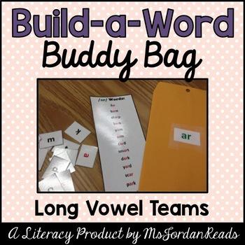 """Build-a-Word"" Buddy Bag: Long Vowel Teams"