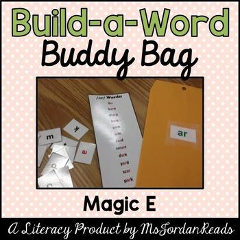 """Build-a-Word"" Buddy Bag: Magic E"