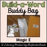 """Build-a-Word"" Buddy Bag: Magic ""E"" Words"
