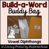 """Build-a-Word"" Buddy Bag: Vowel Diphthongs"