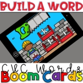 Build a Word CVC Construction- Boom Cards for Distance Learning