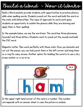 Build a Word (CVC Edition)
