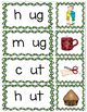 Build a Word CVC Onset and Rime Picture Matching Game