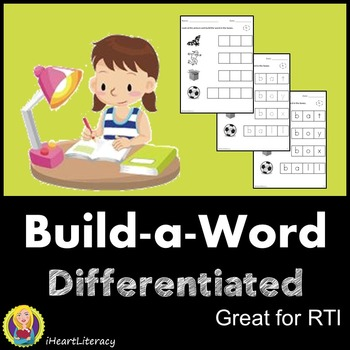 Differentiated Phonics Word Building