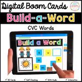 Word Building Digital Boom Cards: CVC Words