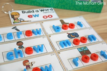 Build a Word (Diphthongs Edition)