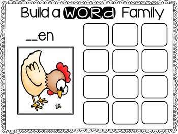 Build a Word Family