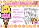 Easy Word Family Fun