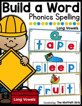 Build a Word (Long Vowel Edition)