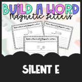 Build a Word - Magnetic Letters - Silent E