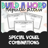 Build a Word - Magnetic Letters - Special Vowel Combinations