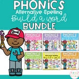 Build a Word - Phonics Alternative Spelling BUNDLE
