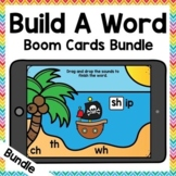 Build a Word Phonics Boom Cards Big Bundle | Distance Learning