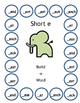 Build-a-Word Short Vowel Game