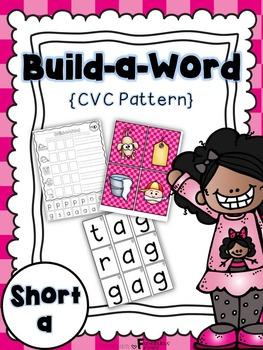 Short a CVC Build a Work