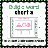 Build a Word Short a Digital