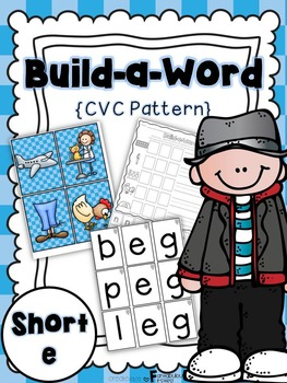 Short e CVC Build a Word