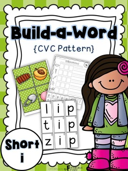 Short i CVC Build a Word