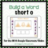 Build a Word Short o Digital