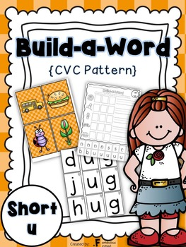 Short u CVC Build a Word