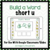 Build a Word Short u Digital