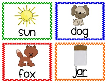Build a Word, Word Puzzles, and Picture Cards