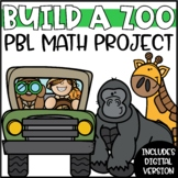 End of the Year Math Review Project | Build a Zoo PBL Math Enrichment Project