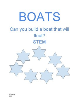 Build a boat