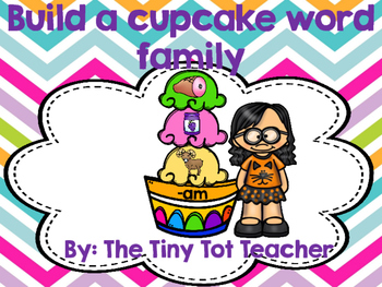 Build a cupcake word family