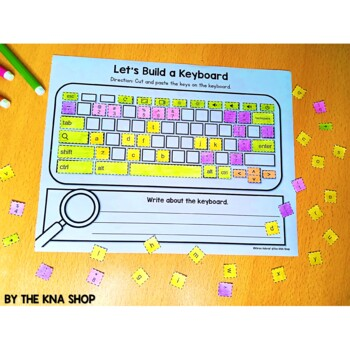 Build a keyboard --- Part of computer #backtoschool