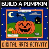 Build a pumpkin - Google Slides Halloween art activity - Digital Learning