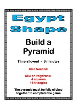Build a pyramid out of Polydrons
