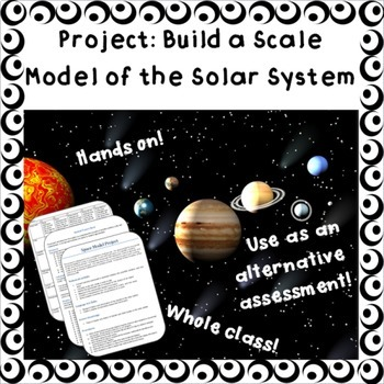 Build a scale model of the solar system - middle/high school