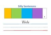 Build a sentence activity 1