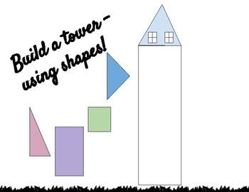 Build a shape tower