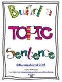 Build a topic Sentence