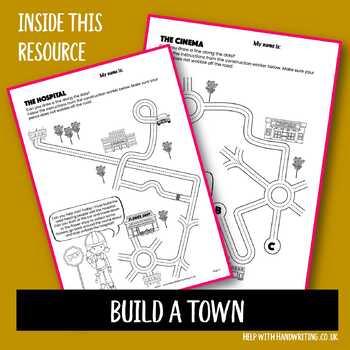 Build a town penmanship