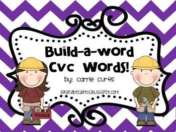Build a word: CVC words!
