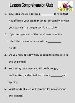 Build an App STEAM Challenge (full activity - no prep)