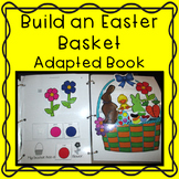Easter Adapted Book Build an Easter Basket for Autism and Special Education