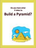 Build an Egyptian Pyramid Webquest