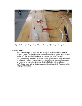 Build an Electric Motor in one hour