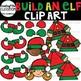 Build an Elf Clipart {Elf Clip art}