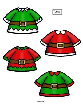 Build an Elf - Oral Language, Color Recognition and Creative Design Activity
