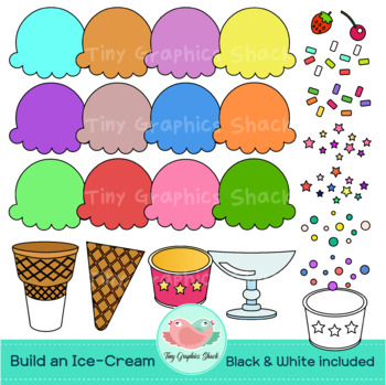 Build an Ice-Cream Clip Art