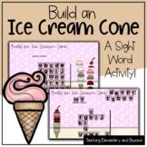 "Build an Ice Cream Cone: Mystery Sight Word ""Hangman"" Twis"