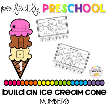 Build an Ice Cream Cone Numbers