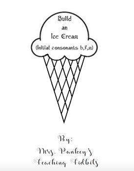 Build an Ice Cream Initial Consonants (b,f,m)