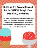 Build an Ice Cream Reward for VIPKID and online ESL