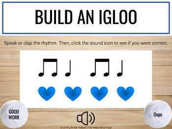 Build an Igloo Bundle: interactive winter rhythm games